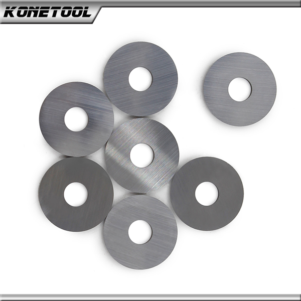 Tungsten Carbide Round Shape Carbide Scraper Blade Ø 8.5x1.5 mm-25°