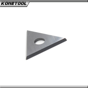 Triangle straight carbide insert 22X19X2.0