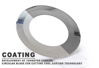 Development of Tungsten Carbide Circular Blade for Cutting Tool Coating Technology