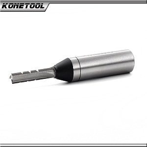 Three Flute - Carbide Tipped Straight Router Bit
